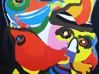 <b>Karel  Appel (1921-2006)</b>